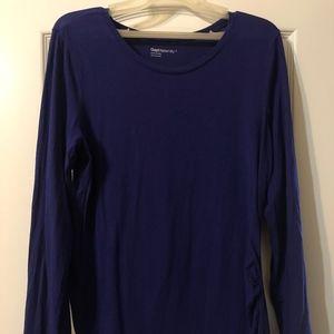 Gap Maternity Pure Body Long Sleeve Shirt Large